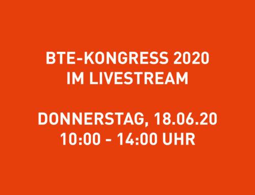 BTE-Kongress am 18.06.2020