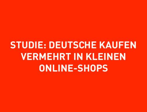 Studie: Deutsche kaufen vermehrt in kleinen Online-Shops